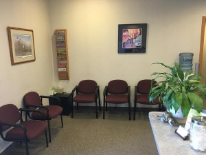 photo of a waiting room in White Bear Foot and Ankle Clinic
